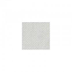 Toile Aïda Country Zweigart 2,8fils/cm - largeur 140cm - blanc irisé