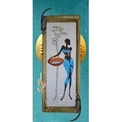 Songe turquoise - Isabelle Haccourt Vautier