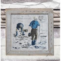 Les pêcheurs - Isabelle Haccourt Vautier