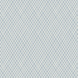 Crisscross Light Blue - coupon 50x55cm - tissu Tilda