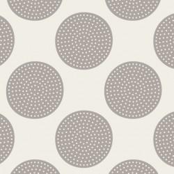 Dottie Dots Grey - au mètre - laize 110cm - tissu Tilda
