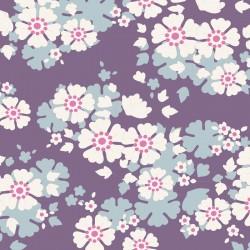 Aster Violet - coupon 50x55cm - tissu Tilda