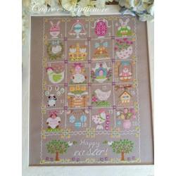 Shabby Easter Calendar - Cuore e Batticuore