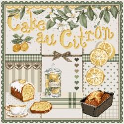 Cake au citron - Madame la fée