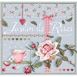 Jardin de roses - Madame la fée