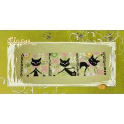 Les Psycho Cat's aiment le printemps ! - Isabelle Haccourt Vautier