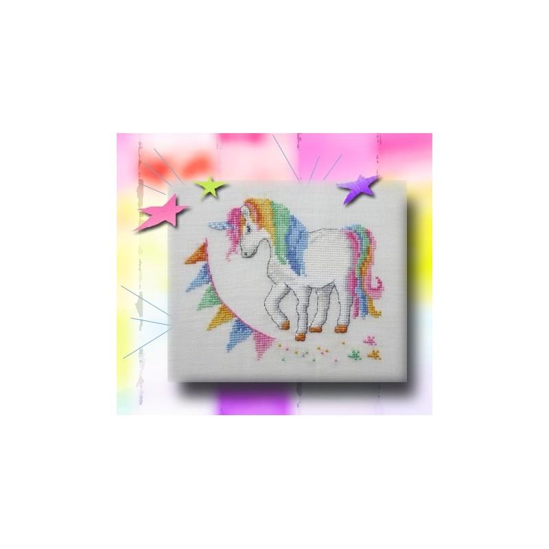 La licorne - Au fil de Martine