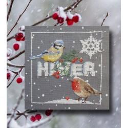 Les oiseaux en hiver - Au fil de Martine