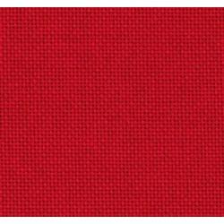 Toile Lugana Zweigart 10fils/cm - 50x70cm - rouge