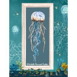 La méduse - Isabelle Haccourt Vautier