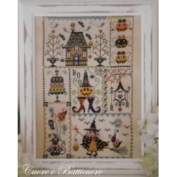 Halloween in quilt - Cuore e Batticuore