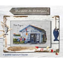 Au port de St Trojan - Isabelle Haccourt Vautier