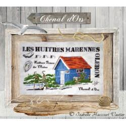 La tite cabane à huîtres - Isabelle Haccourt Vautier
