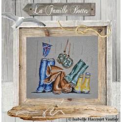 La famille bottes - Isabelle Haccourt Vautier