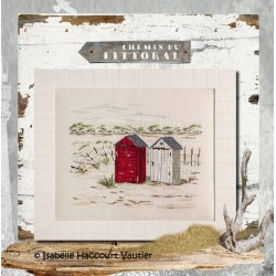Les cabanes de plage - Isabelle Haccourt Vautier