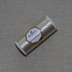n°D168 - Fil à broder Diamant DMC - métallisé - art. 380