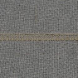 Dentelle fantaisie - beige - 100% coton - 13mm