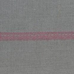Dentelle fantaisie - vieux rose - 100% coton - marque Frou-Frou