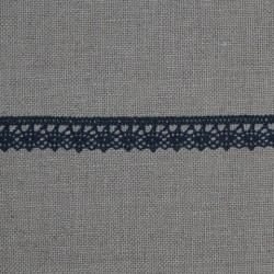 Dentelle fantaisie - gris foncé - 100% coton - marque Frou-Frou