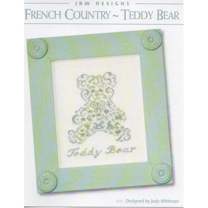 French country teddy bear - JBW Designs