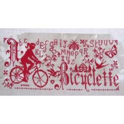 A bicyclette - Isabelle Haccourt Vautier