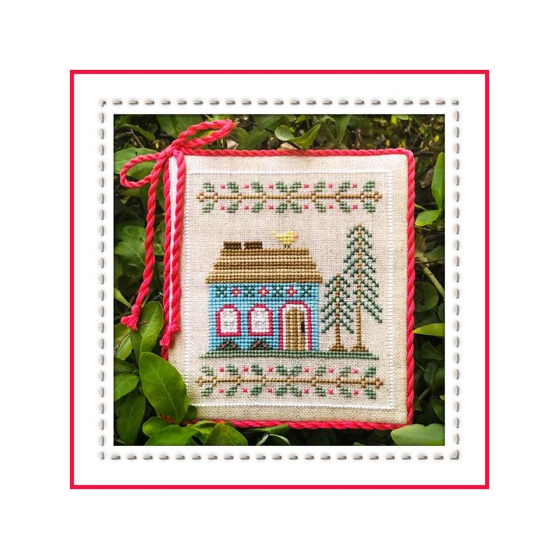 Blue forest cottage - Country Cottage Needleworks