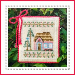 Pink forest cottage - Country Cottage Needleworks