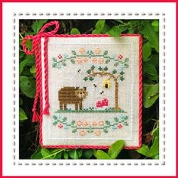 Forest Bear - Country Cottage Needleworks