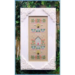 May sampler - Country Cottage Needleworks