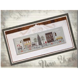 Afternoon in New York - Country Cottage Needleworks