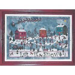 December snow - Praiseworthy Stitches