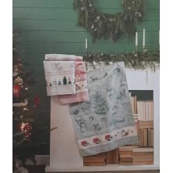 Des idées pour Noël - Livret de modèles pour torchons - DMC