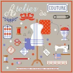 Atelier de couture - Passion Bonheur