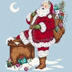 Jolly Santa - Shannon Christine Designs