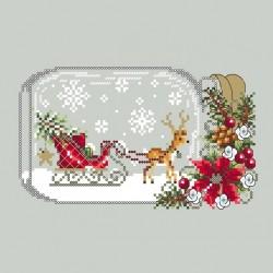 Sleigh Snow Globe - Shannon Christine Designs