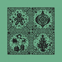 Christmas Silhouette Ornaments - Shannon Christine Designs