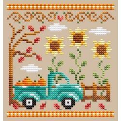 Pumpkin Truck - Shannon Christine Designs