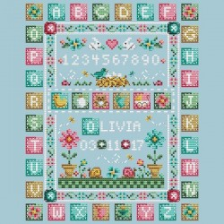 Quilted baby sampler - Shannon Christine Designs