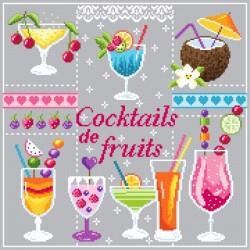 Cocktails de fruits - Passion Bonheur