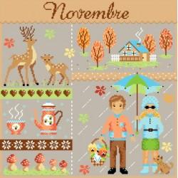 Novembre - Passion Bonheur