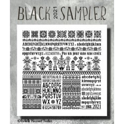 Black Sampler 2021 - Isabelle Haccourt Vautier