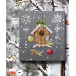 Le nichoir à Noël - Au fil de Martine