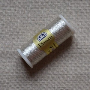 Fil à broder Diamant DMC - métallisé - art.380 - 4,00€ la bobine